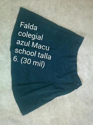 FALDA COLEGIAL