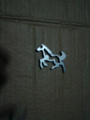 Llavero Metalico Aluminio Decorativo En Forma De Caballo