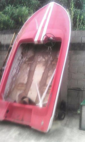 Motor Fuera De Borda Mercury 50 Y Lancha Fibra De Vidrio