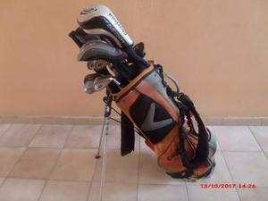 Palos Y Maleta De Golf, Juego Completo Hierros 3-pw