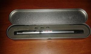 Apuntador Laser Y Antena Con Boligrafo, Linterna