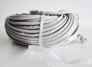 Cable De Red 30mts Patch Cord Internet Utp Rj45 Modem Router