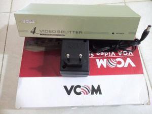 Splitter Vga 4 Puertos Vcom 250mhz