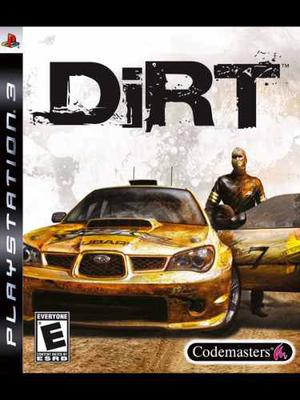 Juego Dirt De Playstation 3 Original