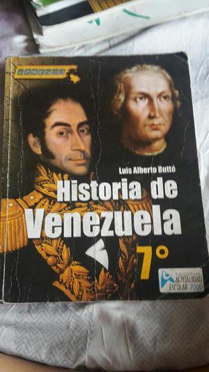 Libro Historia de Venezuela