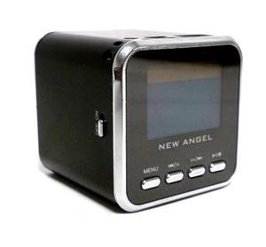 Mini Corneta Angel Portatil Reproductor De Mp3 Mp4 Micro Sd