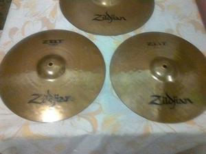 Set De Platillos Profesionales Zildjian Zbt (nuevos)
