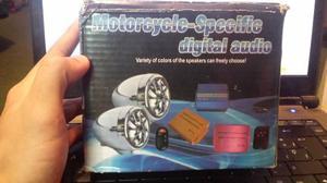 Sonido Para Motos Reproductor Mp3 Usb Y Sd Con Radio Y Alarm