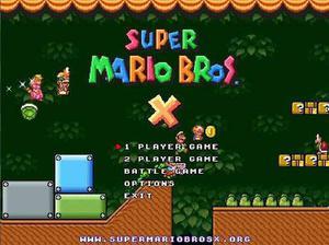Super Mario Bros. X Para Pc