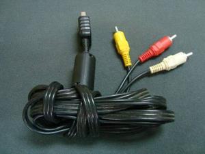 Cable Rca Audio Y Video Para Play Station 1, 2 Y 3