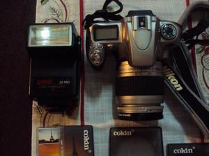 Camara Profesional Nikon N Mm Autofoco Con Accesorios