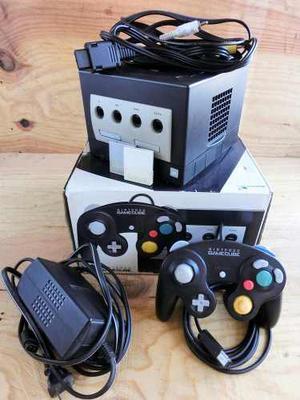 Cónsola Nintendo Gamecube Negra, Con Todos Sus Accesorios.