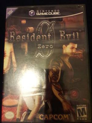 Juego De Gamecube Resident Evil Zero