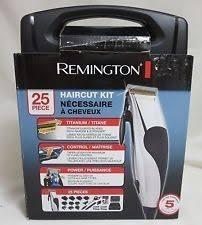 Maquina De Afeitar Remington Kit 25 Piezas Estuche Incluido