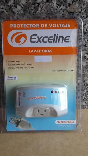 Protector De Voltaje Para Lavadoras Exceline Gsm- Lv