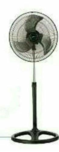 Ventilador Huracán De Hierro 18 Con 1 Posic. Pedesta May,de