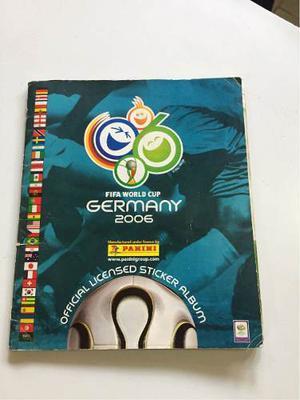 Álbum Coleccionable Del Mundial De Fútbol Alemania
