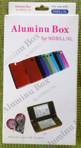 Carcasa Protectora Plastica Y Aluminio Para Nintendo Dsi Xl