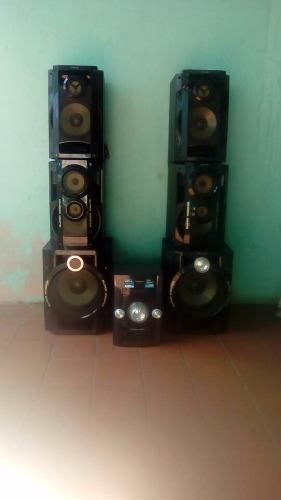 Equipo De Sonido Panasonic Sa-akx92
