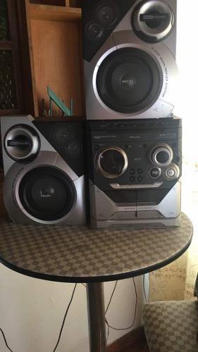 Equipo De Sonido Philips, En Perfectas Condiciones