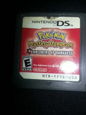 Juego Pokemon Para Ds.