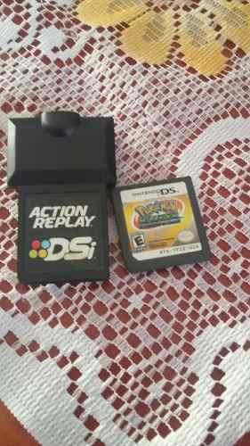 Juego Pokemon Ranger Y Action Replay Para Nintendo Ds