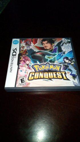 Juego Pokémon Conquest Pasa Nintendo Ds