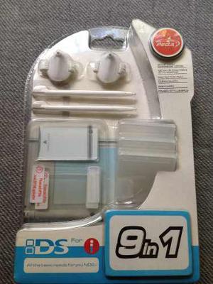 Kit Accesorios Nintendo Dsi 9 En 1 (ver Descripción) Nuevo