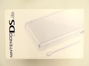 Nintendo Ds Lite Negro - Como Nuevo, En Su Empaque