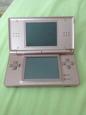 Nintendo Ds Lite Rosado Metálico
