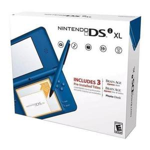 Nintendo Dsi Xl Azul Nuevo De Caja