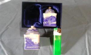 Porcelana Miniatura China - Especiero De Mesa