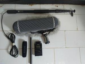 Rode Ntg-2 Micrófono (equipo Completo)