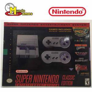 Súper Nintendo Classic Edition Nuevo (tienda Física)