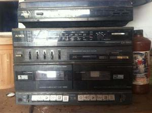 Tocadiscos, Caset O Cassette Y Radio 3 En 1 Marca: Aiwa
