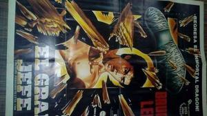 Afiche Original De  El Gran Jefe Bruce Lee