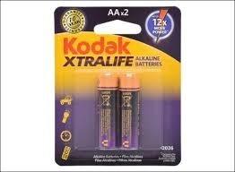 Bateria Pila Aa Kodak Xtralife X 2