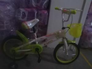 Bicicleta Rin 16 Para Niñas Y Niños Al Mayor Y Detal