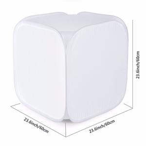Caja De Luz 60 Cm X 60 Cm Para Fotografia De Producto