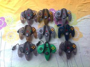 Controles De Nintendo 64 Originales