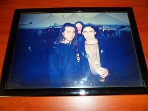 Fotografia Coleccion Miembro Cradle Of Filth Y Eight Sin