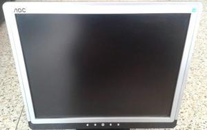 Monitor Usado Aoc 17 Pulgadas En Perfecto Estado