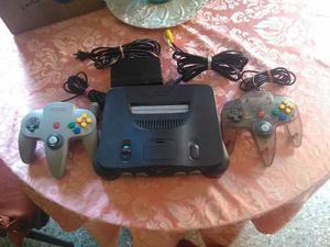 Nintendo 64 + 2 Controles Totalmente Operativo