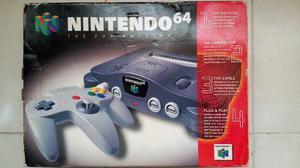 Nintendo 64 Con 2 Controles Y 6 Juegos En Perfecto Estado!!!