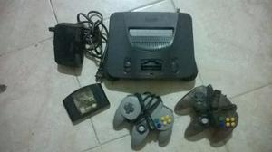 Nintendo 64 Sin Cable De Audio Y Video En Buen Estado