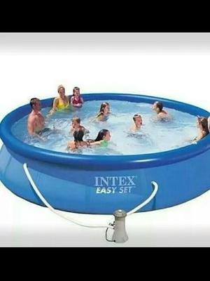 Piscina Intex Easy Set 457 X 91 Cm Con Filtro