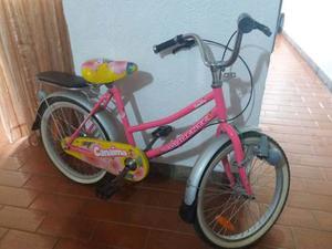Remate Bicicleta Niña Canaima Rin 20 Poco Uso