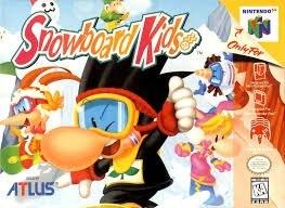Se Busca Juego Snowboard Kids De N64