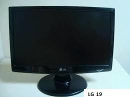 Vendo Monitor Lg 19 Pulgadas, Teclado Hp Y Mouse Genius