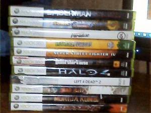 Vendo O Cambio Juegos De Xbox 360 Originales En Buen Estado.